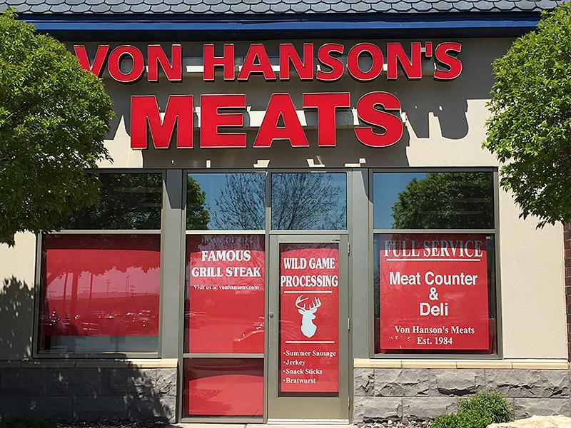 Blaine, MN Von Hanson's Meats